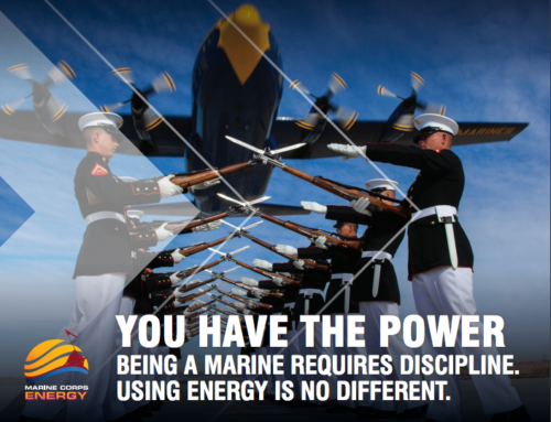Marine Corps Energy Initiative: Changing behavior through group identity